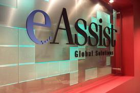 Display Sign for eAssist Global Solutions