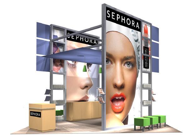 Sephora 20x20 Display