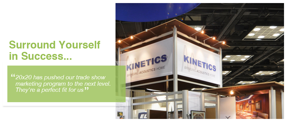 5 Trade show displays