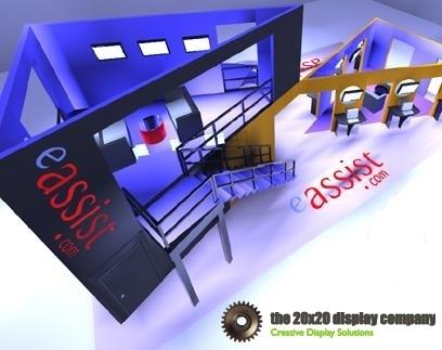 eAssist 2-Story 20 x 50 Display
