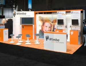 Wimba 10x20 Exhibit
