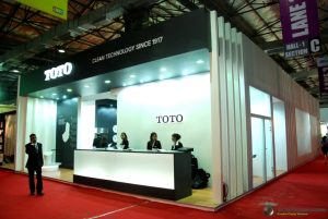 Toto Island Display - India