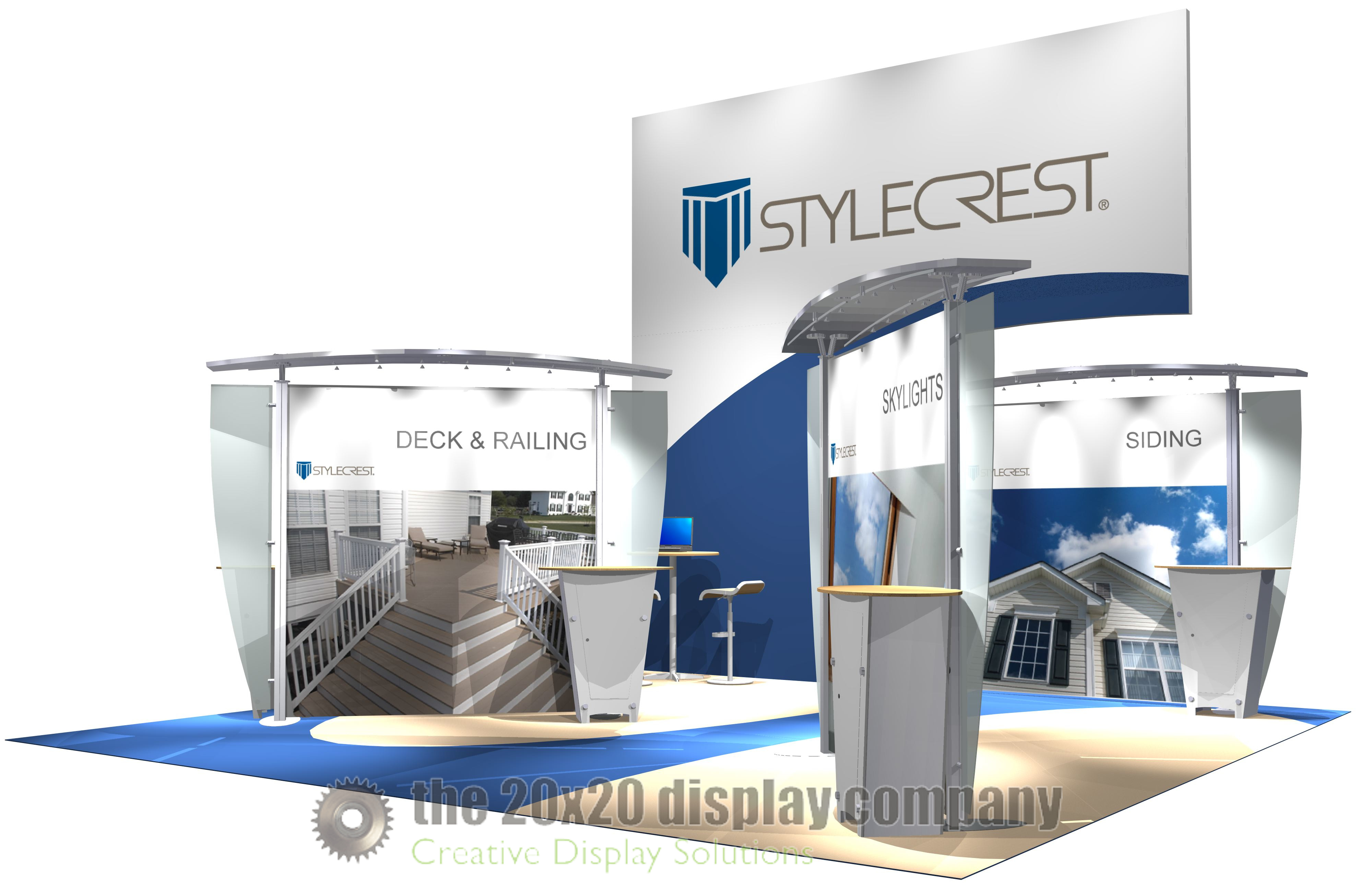 Stylecrest 20x20 Display