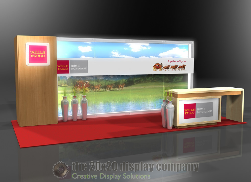 Wells Fargo 10x20 Exhibit