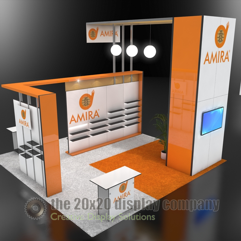 Amira 20x20 Display