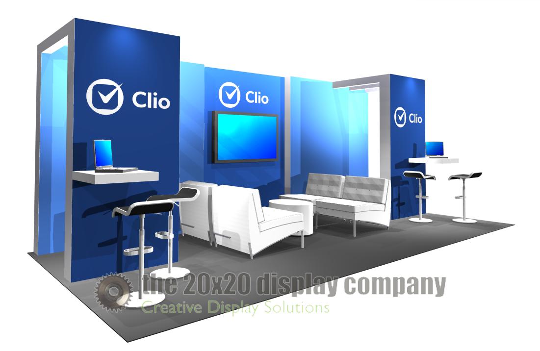 Clio 10x20 Display