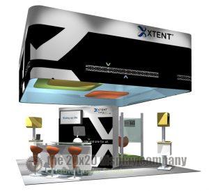 Xtent 20x20 Island Exhibit