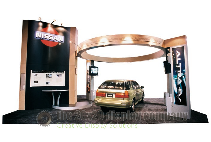 Nissan 20x30 Island Exhibit