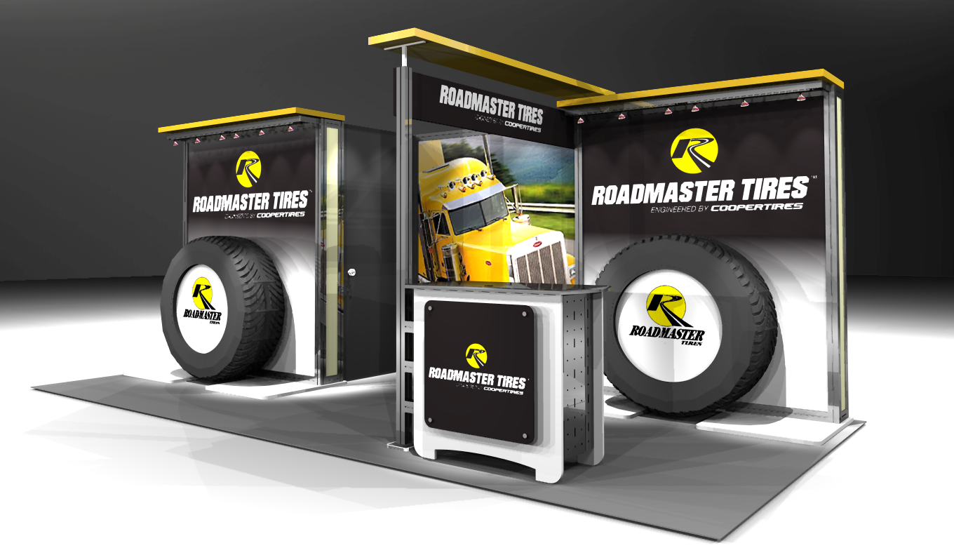 Road Master 10x20 Display