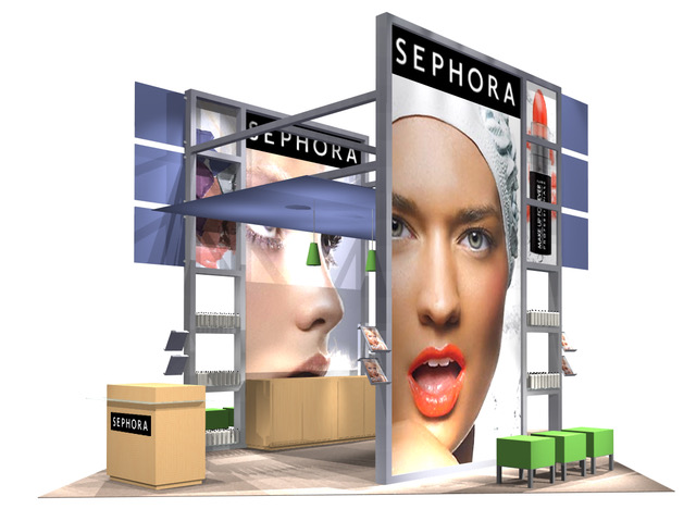 Trade Show Displays - custom modular portable and rental